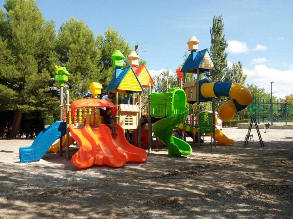 inauguracion del parque infantil