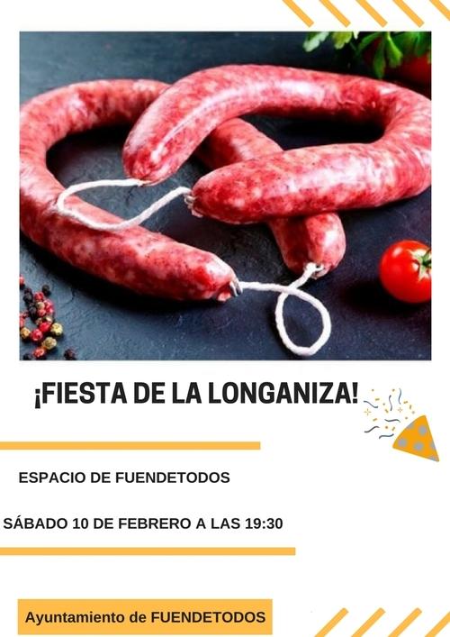 Fiesta de la longaniza en Fuendetodos