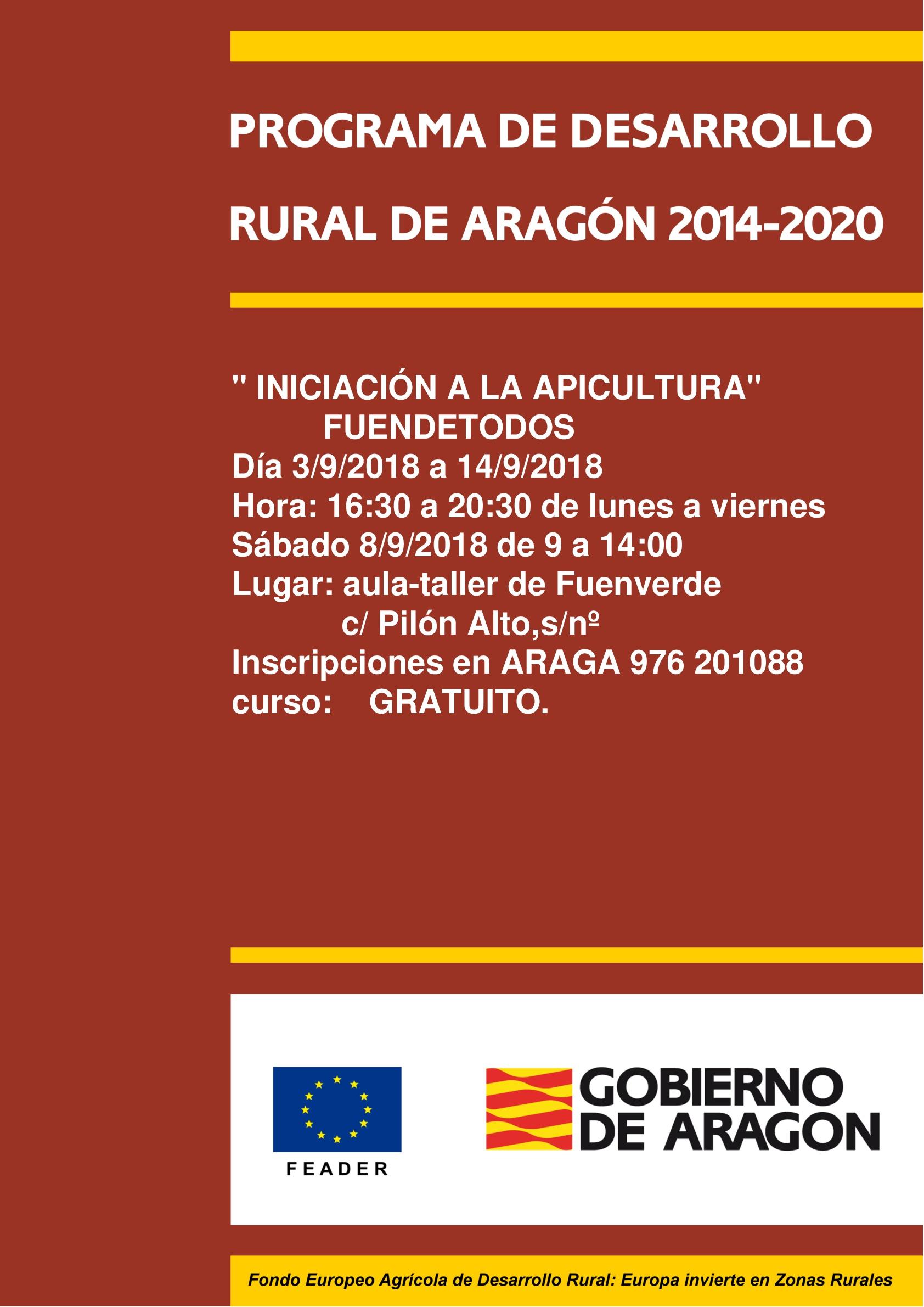 programa desarrollo rural fuendetodos