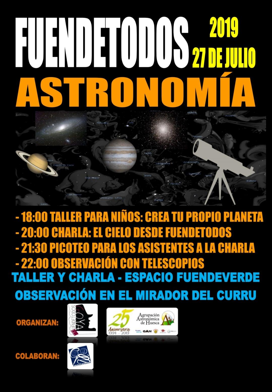 Fuendetodos astronomía