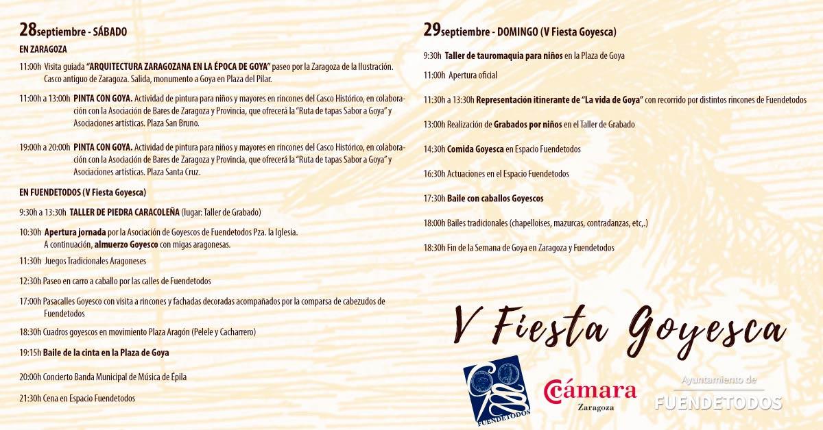 Fiesta goyesca