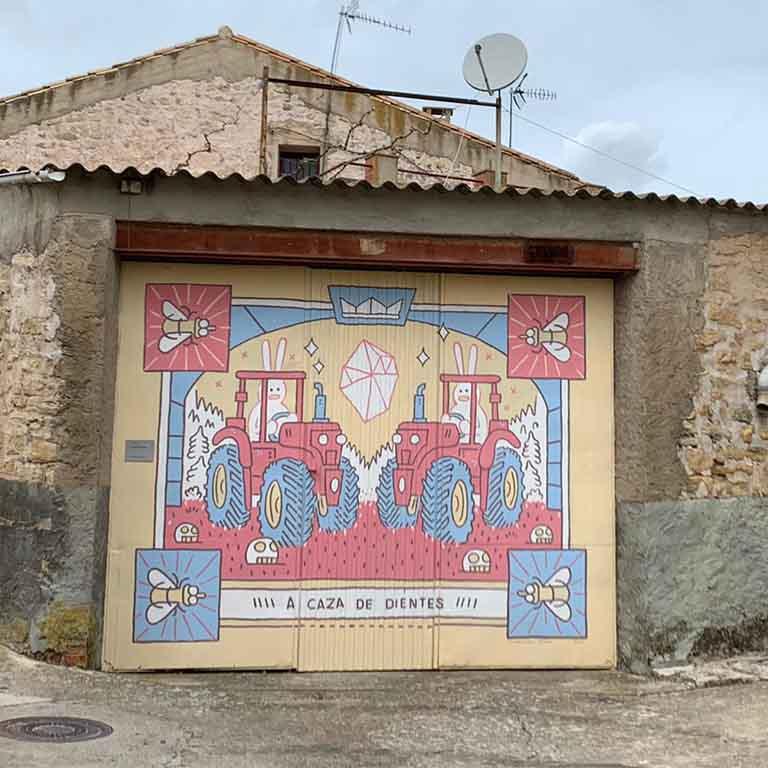 Fuendetodos-Goya-street-art-alvaro-ortiz