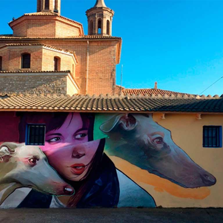 Fuendetodos-Goya-street-art-treze-2